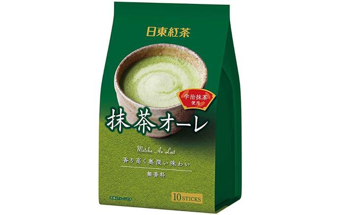 日东红茶速溶抹茶欧蕾冲饮 30包 降至903日元+9积分
