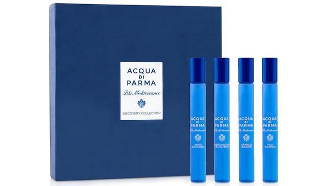 Acqua di Parma Blu Mediterraneo Discovery试管香10ml*4降至8折$64