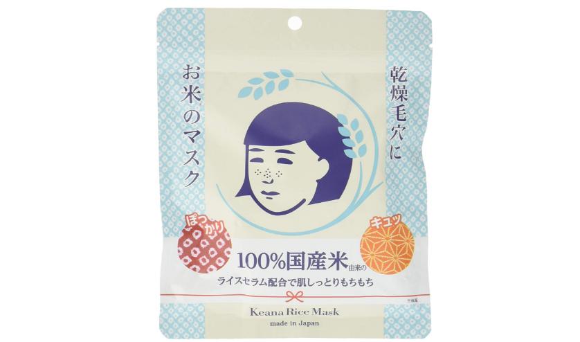 石泽研究所毛穴抚子 大米面膜 10片装补货715日元+7积分