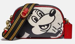 Coach Outlet工厂店官网购Disney Mickey Mouse合作系列4折+额外85折