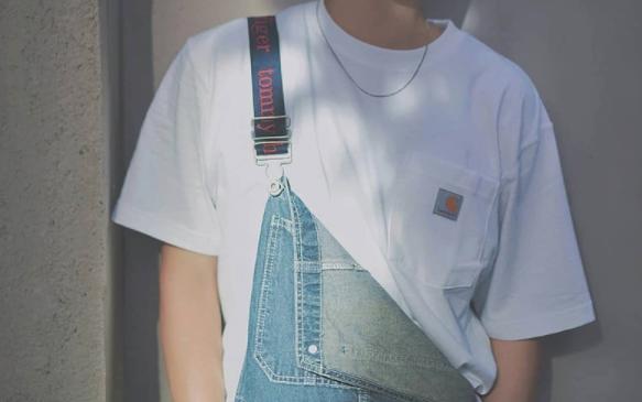 降价!Carhartt卡哈特 工装口袋男款T恤 多色折后价$10.83