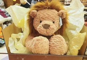易烊千玺同款!Jellycat波浪毛系列狮子玩偶 海淘售价$25
