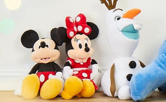 shopDisney迪士尼官网精选公仔玩偶多买多省低至$9促销