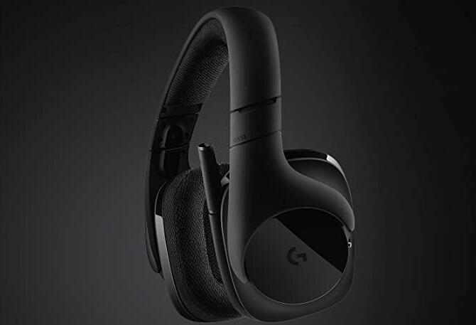 Logitech G533 无线全尺寸7.1声道电竞耳机降至4.7折价$69.99
