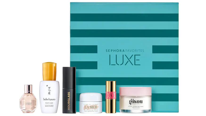 即将上架!Sephora Favorites LUXE超值美妆盒子(价值$105)售价$25