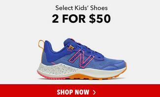 Joe's NB Outlet官网精选新百伦大童574、515系列跑鞋2双$50