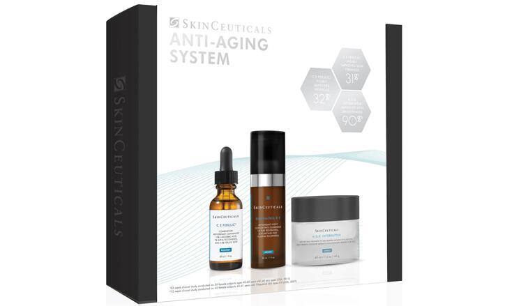 SkinCeuticals修丽可抗老系列套装(价值$481)85折$293.25+赠14件套