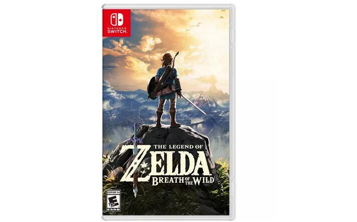 《塞尔达传说:旷野之息》Switch实体游戏 特价$37.99