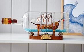 Lego Ideas 乐高系列 瓶中船 - 92177会员日海淘7折$48.99