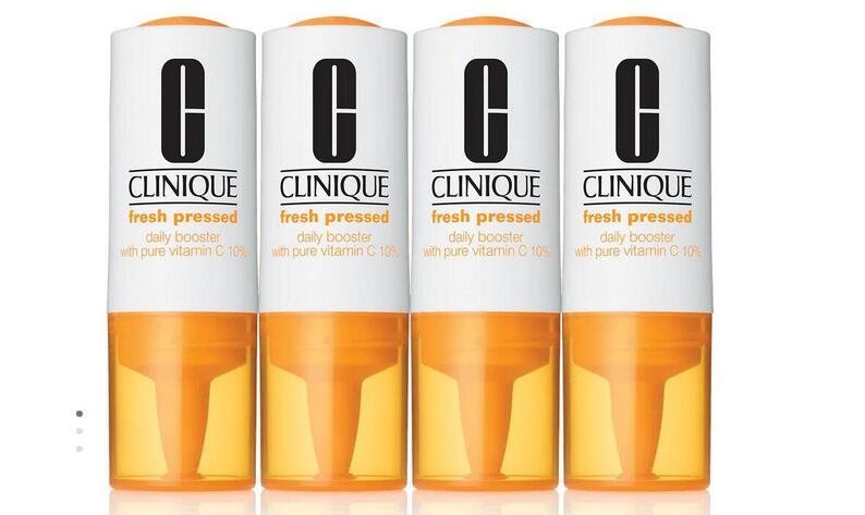 Clinique倩碧微针管维C精华液4 x 8.5ml降至4.2折价$33.18