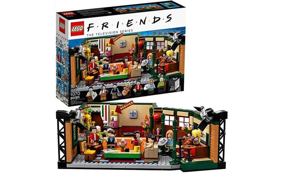 降价!LEGO老友记-中央公园咖啡馆 21319 降至8折$48