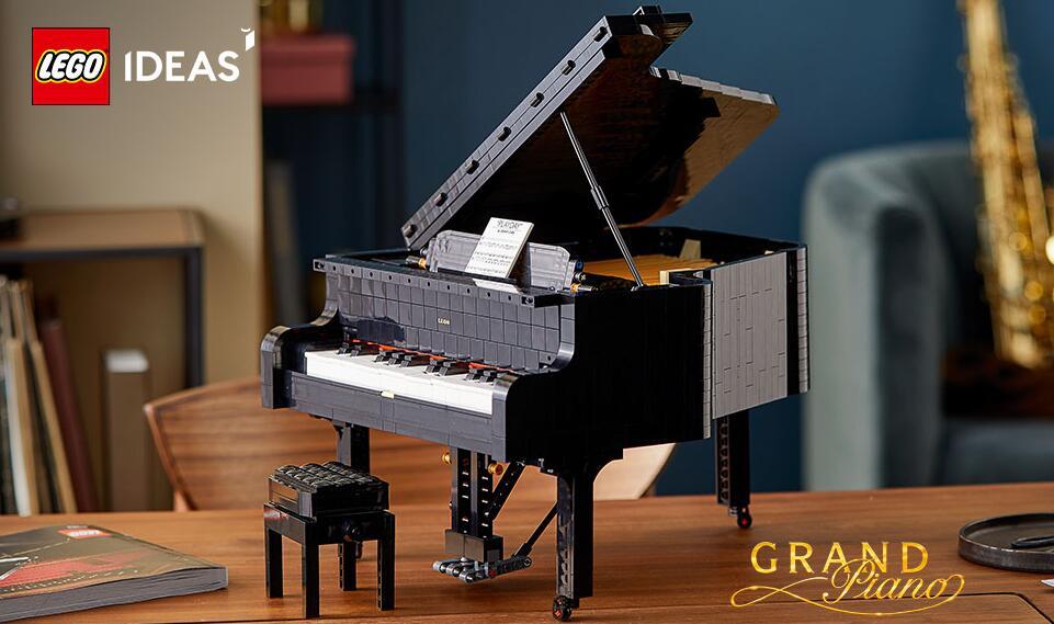 LEGO乐高创意系列可弹奏三角钢琴21323 售价$349.95