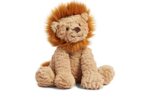 Nordstrom购Jellycat波浪毛系列狮子玩偶海淘售价$26.5