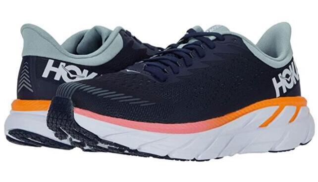 HOKA ONE Clifton 7 Road女款跑步鞋降至7折$89.83