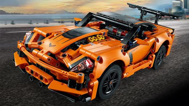 LEGO乐高机械组42093雪佛兰科尔维特ZR1跑车2019款降至$39.99