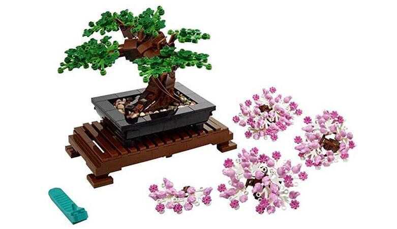 补货!Lego乐高盆栽10281(878粒)海淘降至82折$40.99