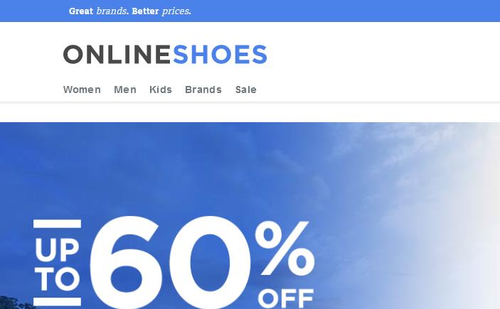 OnlineShoes美国官网鞋子海淘攻略教程