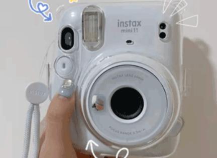 降价!Fujifilm富士Instax Mini 11 Instant拍立得相机售价$59.95