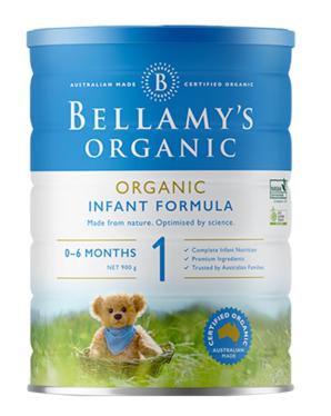 贝拉米Bellamy`s有机奶粉