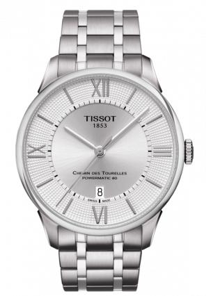 Tissot天梭杜鲁尔系列钢带80机芯机械男表