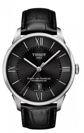 Tissot 天梭杜鲁尔系列皮带80机芯机械男表