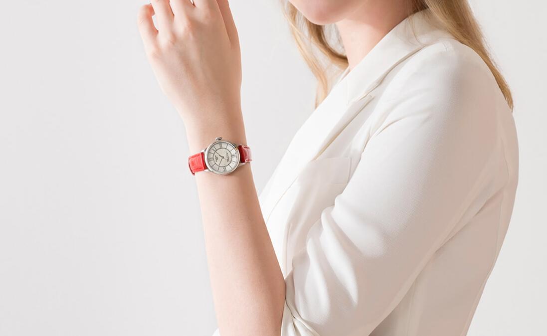 Tissot 天梭杜鲁尔系列皮带80机芯机械女表