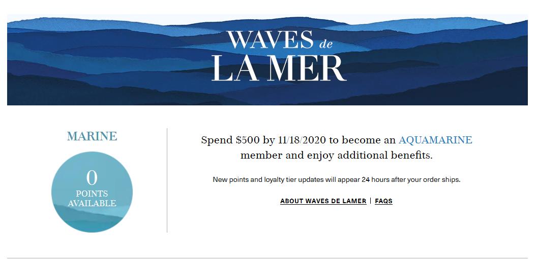 2021史上最全La Mer海蓝之谜美国官网会员制度及积分攻略教程