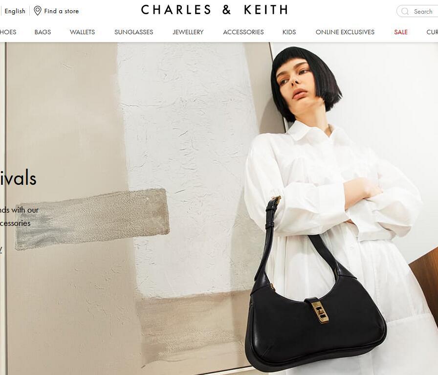 小CK美国官网包包海淘下单流程 Charles & Keith美国海淘购物攻略